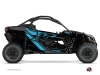 Kit Déco SSV Alpha Can Am Maverick X3 Noir Bleu