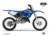 Yamaha 125 YZ Dirt Bike Basik Graphic Kit Blue LIGHT