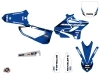 Yamaha 250 YZ Dirt Bike Basik Graphic Kit Blue