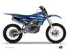 Yamaha 250 YZF Dirt Bike Basik Graphic Kit Blue