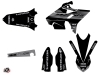 Kit Déco Moto Cross Black Matte Yamaha 125 YZ RTECH Revolution Noir LIGHT