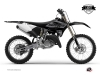 Kit Deco Dirt Bike Black Matte Yamaha 125 YZ UFO Relift Black LIGHT