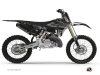 Kit Déco Moto Cross Black Matte Yamaha 250 YZ RTECH Revolution Noir