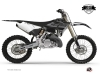 Kit Deco Dirt Bike Black Matte Yamaha 250 YZ RTECH Revolution Black LIGHT