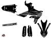 Kit Déco Moto Cross Black Matte Yamaha 450 WRF Noir LIGHT