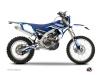 Kit Déco Moto Cross Concept Yamaha 450 WRF Bleu