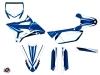 Yamaha 85 YZ Dirt Bike Concept Graphic Kit Blue
