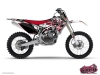 Yamaha 125 YZ Dirt Bike Demon Graphic Kit Red