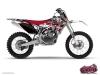 Yamaha 450 YZF Dirt Bike Demon Graphic Kit Red