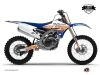 Yamaha 250 YZF Dirt Bike Eraser Graphic Kit Blue Orange LIGHT