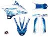Kit Déco Moto Cross Eraser Yamaha 85 YZ Bleu LIGHT
