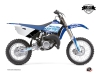 Yamaha 85 YZ Dirt Bike Eraser Graphic Kit Blue LIGHT