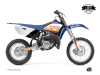 Yamaha 85 YZ Dirt Bike Eraser Graphic Kit Blue Orange LIGHT