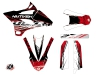 Kit Déco Moto Cross Eraser Yamaha 85 YZ Rouge Blanc LIGHT