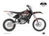 Yamaha 85 YZ Dirt Bike Eraser Graphic Kit Red White LIGHT