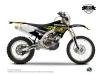 Kit Déco Moto Cross Eraser Fluo Yamaha 250 WRF Jaune LIGHT