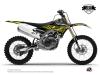 Yamaha 250 YZF Dirt Bike Eraser Fluo Graphic Kit Yellow LIGHT
