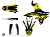 Kit Déco Moto Cross Eraser Fluo Yamaha 450 WRF Jaune LIGHT