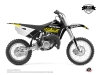Kit Déco Moto Cross Eraser Fluo Yamaha 85 YZ Jaune LIGHT