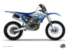 Yamaha 250 YZF Dirt Bike Eraser Graphic Kit Blue