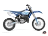 Yamaha 85 YZ Dirt Bike Eraser Graphic Kit Blue