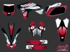 Yamaha 250 YZF Dirt Bike Factory Graphic Kit Red