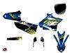 Kit Déco Moto Cross Flow Yamaha 125 YZ Jaune