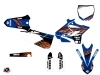Kit Déco Moto Cross Flow Yamaha 250 YZ Orange