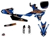 Yamaha 250 YZF Dirt Bike Flow Graphic Kit Orange
