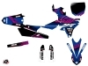 Kit Déco Moto Cross Flow Yamaha 250 YZF Rose