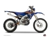 Yamaha 450 WRF Dirt Bike Flow Graphic Kit Orange