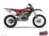 Kit Déco Moto Cross Freegun Yamaha 125 YZ Rouge