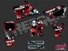 Yamaha 85 YZ Dirt Bike Factory Graphic Kit Red
