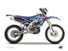 Yamaha 250 WRF Dirt Bike Freegun Eyed Graphic Kit Red