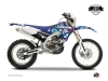 Yamaha 450 WRF Dirt Bike Freegun Eyed Graphic Kit Red LIGHT