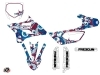 Yamaha 85 YZ Dirt Bike Freegun Eyed Graphic Kit Red