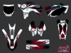 Kit Déco Moto Cross Graff Yamaha 250 YZF Rouge