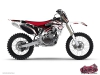 Yamaha 250 YZF Dirt Bike Graff Graphic Kit Red