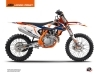 Kit Déco Moto Cross Gravity KTM 350 SXF Bleu