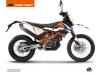 Kit Déco Moto Cross Gravity KTM 690 ENDURO R Bleu