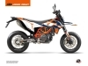 Kit Déco Moto Cross Gravity KTM 690 SMC R Bleu