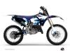 Yamaha 125 YZ Dirt Bike Hangtown Graphic Kit Blue
