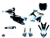 Kit Déco Moto Cross Hangtown Yamaha 125 YZ Bleu