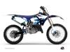 Yamaha 125 YZ Dirt Bike Concept Graphic Kit Blue