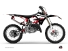 Yamaha 250 YZ Dirt Bike Hangtown Graphic Kit Red