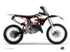 Kit Déco Moto Cross Hangtown Yamaha 125 YZ Rouge
