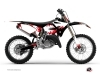 Yamaha 125 YZ Dirt Bike Concept Graphic Kit Red