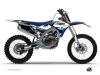 Yamaha 250 YZF Dirt Bike Hangtown Graphic Kit Blue