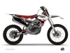 Yamaha 250 YZF Dirt Bike Hangtown Graphic Kit Red