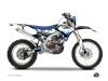 Yamaha 450 WRF Dirt Bike Hangtown Graphic Kit Blue